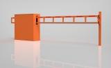 Антивандальный автоматический шлагбаум (мини) ОЭ-4.0 А, 4 м